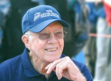 Former President Jimmy Carter hospitalized for urinary tract infection – let's send prayers