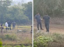 Four alleged rapists of veterinarian shot dead by police after being taken back to scene of crime
