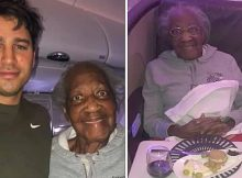 Passenger gives his first class seat to 88-year-old woman he just met in airport