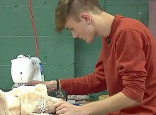 Teen can't afford her dream dress, so prom date teaches himself to make it