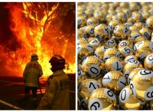Australian man wins $1,000,000 in lottery after his home was destroyed in bushfires