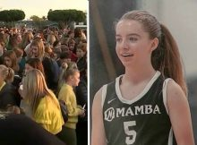 Candlelight vigil held for 14-year-old helicopter crash victim - 'I just really miss her'