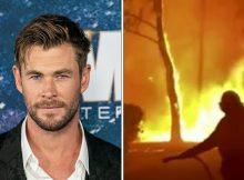Chris Hemsworth pledges $1,000,000 to Australian bush crisis as fires rage