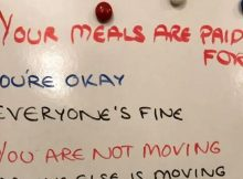 Doctor posts 'dementia whiteboard' one daughter wrote for her mother