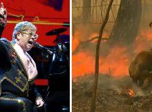 Elton John donates $1 million to Australian bushfire crisis
