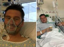 Firefighter nearly dies from heart infection after getting popcorn stuck in his teeth