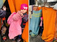 """Little girl spent Christmas in rubbish dump after father abandoned her for being """"too much work"""""""