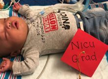 Premature baby finally going home after 307 days in hospital – what a blessing ❤️