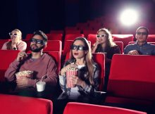 Seeing a movie is as good for your heart as a workout, new study finds