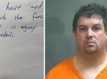 Truck driver issues handwritten apology note after crash kills 3 and injures 14
