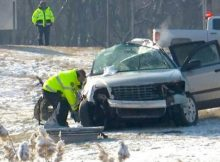 5 children died in crash after being ejected from car, were not wearing seatbelts
