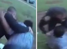 76-year-old grandma bodyslammed to the ground by police officer – investigation now underway