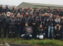 Burly bikers stand in court behind kids facing their abusers – helping them to feel safe