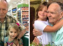 Elderly man whose unlikely friendship with 4-year-old girl went viral has died