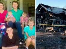 Family of 7, including 6 children, die in house fire after window bars trap them – rest in peace