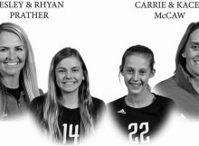 Former college volleyball stars and their daughters, aged 12, killed in car crash – rest in peace
