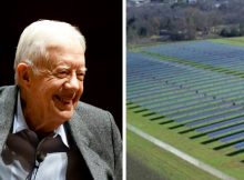 Jimmy Carter built a solar farm for his hometown and now its powering half of an entire city