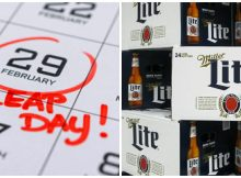 Miller Lite is giving out free 24-packs of beer for Leap Day