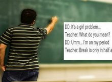"""Mom slams male teacher who told her daughter she had to """"hold in"""" her period"""