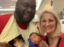 NICU nurse treating premature newborn also treated baby's father decades ago