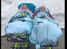 Paramedic takes dying couple to see snow for one last time before they pass