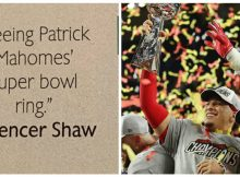 Patrick Mahomes' classmate predicted his Super Bowl win in their high school yearbook