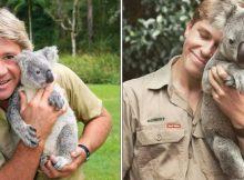 Robert Irwin recreates dad's famous koala photo, and people can't believe it's him