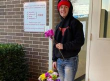 Teen buys 170 flowers to give every girl at his school a Valentine after seeing them upset