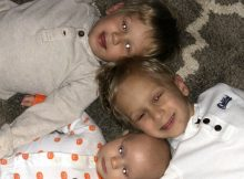 Three young brothers battle the same rare eye cancer