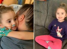 4-year-old's vision 'fully returned' after she lost her eyesight from the flu