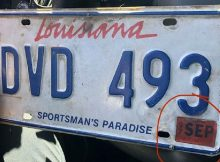 Driver pulled over with license plate from 1997 – 'I've been busy'