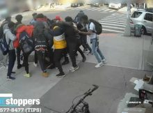 Group of boys caught on camera brutally attacking 15-year-old girl on Brooklyn sidewalk