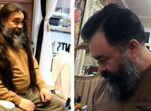 Navy veteran and cancer survivor donates 28 inches of hair for cancer patient wigs