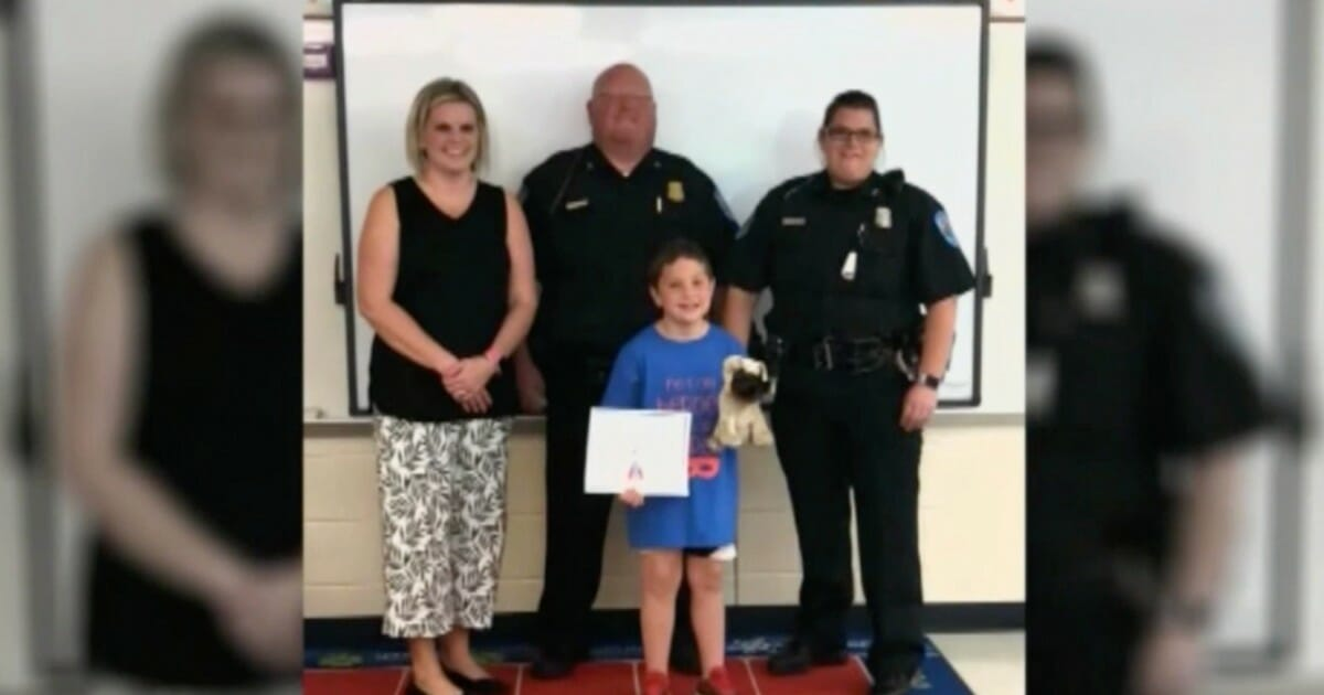 6-year-old crowned a hero after rescuing toddler from near-drowning
