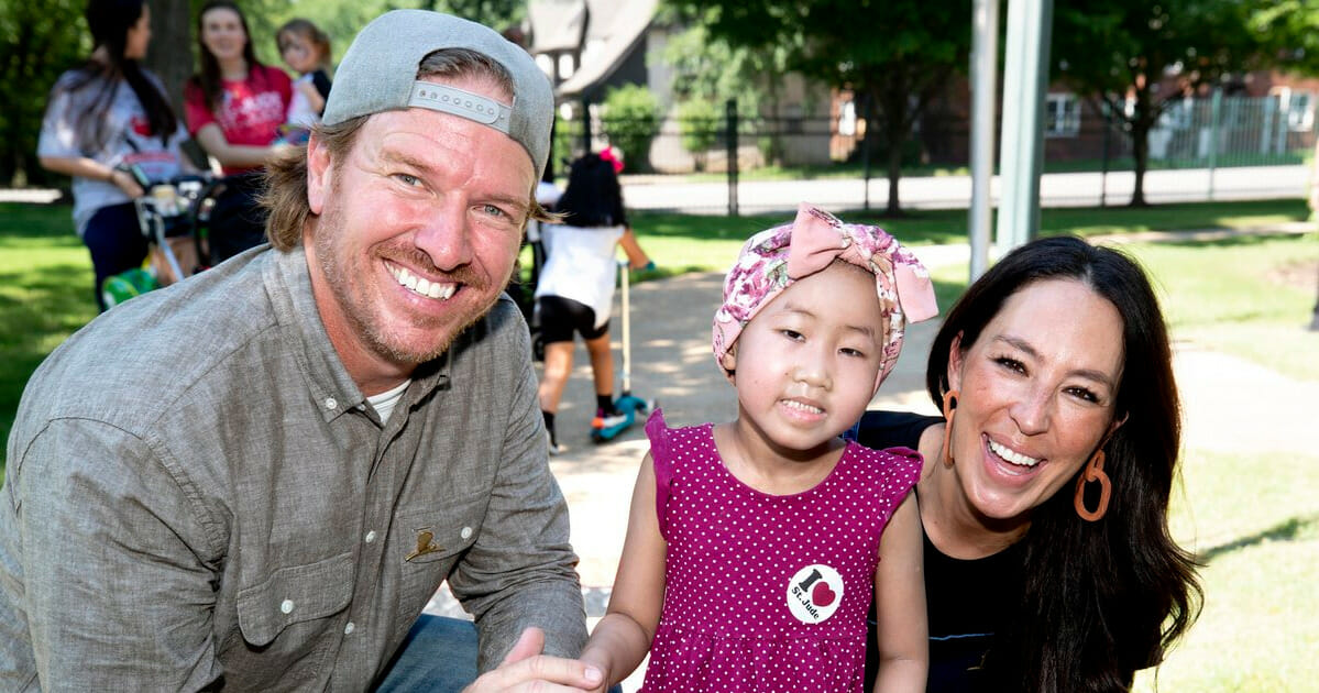 Chip and Joanna Gaines donate $1.5 million dollars and a new playhouse to childrens hospital