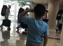 6-year-old boy goes viral for saluting military at airport – let's hear it for him