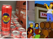 Duff Beer, Homer Simpson's drink of choice, is now available in supermarkets