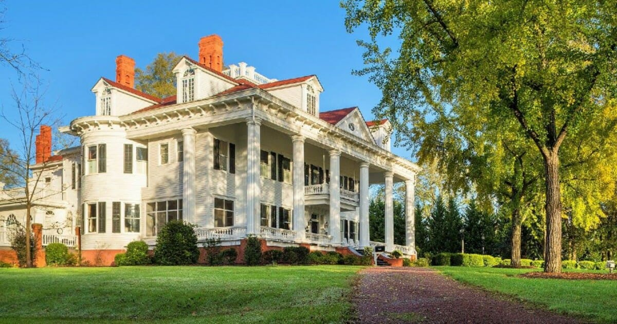 Mansion that inspired Ashley Wilkes' home in 'Gone with the Wind' is for sale