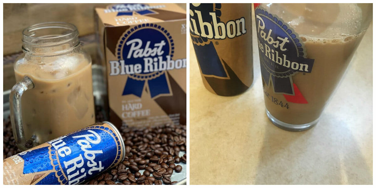 Pabst Blue Ribbon has a surprising new product: boozy coffee.