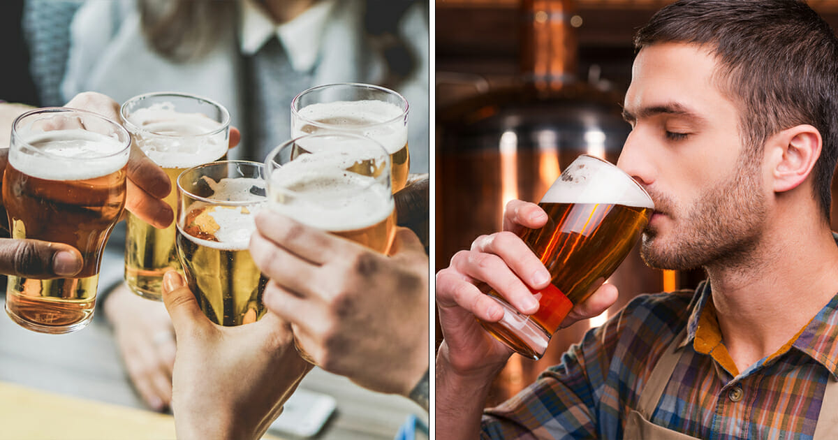 Scientists prove Beer lovers may be healthier than those who stay sober
