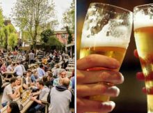 """Thousands attending """"Leave Work and Go To the Beer Garden, They Can't Sack All of Us"""" event"""