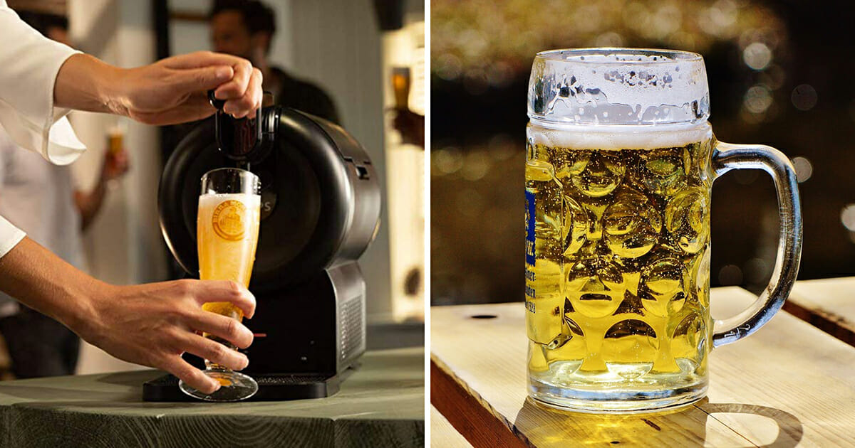 You can now buy mini beer kegs for your kitchen so you can pull the perfect pint at home