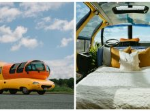 You can now spend a night in the Oscar Mayer Wienermobile