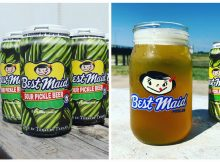 Brewery teams up with local pickle company for pickle-flavored beer