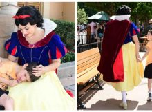 Little boy with autism has 'meltdown' at Disney World, but Snow White makes everything better
