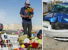 Man who lost wife in El Paso mass shooting has car stolen – help us find the person responsible