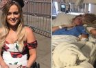Woman wakes up with sore neck and thinks she's 'slept funny', hours later she's paralyzed