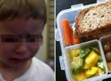 Mom left outraged after teacher throws son's school lunch snack away in front of entire class