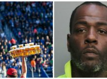 Football stadium vendor arrested after charging $724 for two beers
