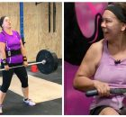 Great-grandmother gets in shape, drops 70 pounds through intense CrossFit routine